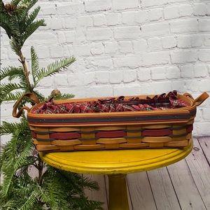Longaberger Crisco American Baking bread basket 97